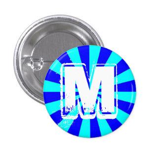 Botón del monograma de M Pin