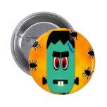 Botón del monstruo de Halloween Pin