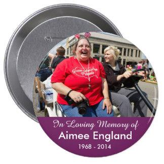 Botón del monumento de Aimee Inglaterra Pins