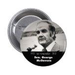 Botón del monumento de George McGovern Pin