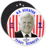 Botón del monumento de Kennedy del peluche Pins