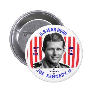 Botón del monumento del Jr. de Joe Kennedy Pins