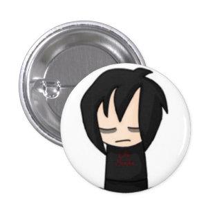 Botón del muchacho de Emo Pin
