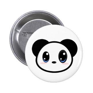 Botón del muchacho de la panda de Chibi Pins
