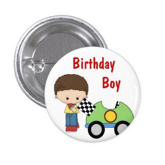 Botón del muchacho del cumpleaños del coche de car pins