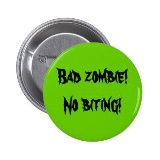 "Botón del ""mún zombi"" pin"
