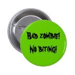 """Botón del """"mún zombi"""" pin redondo de 2 pulgadas"""
