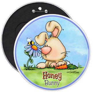 Botón del mundo del conejito de Hunny Pin