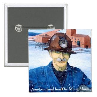 Botón del mural del minero de Terranova