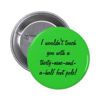 Botón del navidad de Grinchy Pins