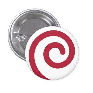 Botón del navidad de Martzkin del bastón de carame Pins