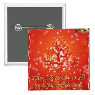 Botón del navidad Pin # 3