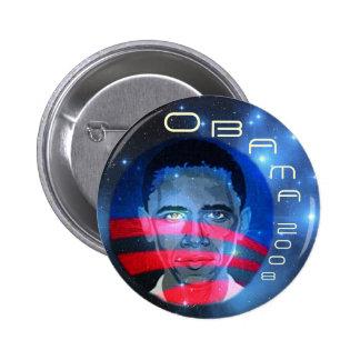 Botón del niño de la estrella de Obama Pin Redondo De 2 Pulgadas