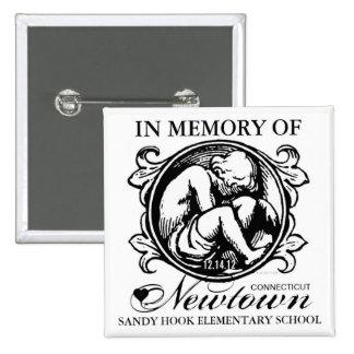 Botón del niño de la memoria de Newtown del gancho
