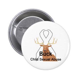 Botón del Niño-Sexual-Abuso del dólar Pins