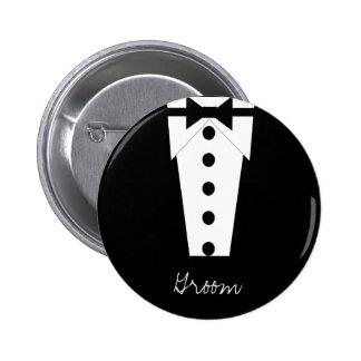 Botón del novio pins