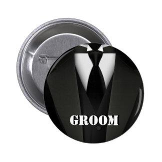 Botón del novio pin