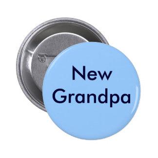 """Botón del """"nuevo abuelo"""" pin redondo de 2 pulgadas"""