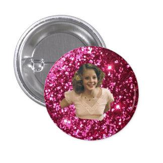 Botón del Nymphet de Jodie Foster Pin Redondo De 1 Pulgada