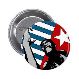 Botón del oeste libre de Papua Pin Redondo De 2 Pulgadas