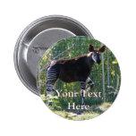 Botón del Okapi Pins