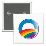 Botón del orgullo de Obama Pin