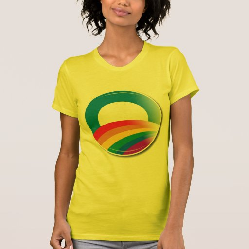 Botón del orgullo de Obama T-shirts