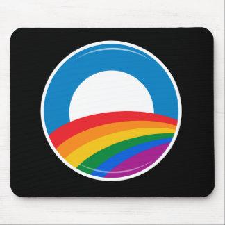 Botón del orgullo de Obama - Alfombrillas De Ratón
