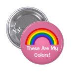 Botón del orgullo del arco iris de LGBT Pins