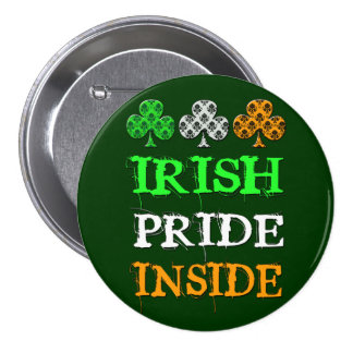 Botón del orgullo del día de St Patrick Pin