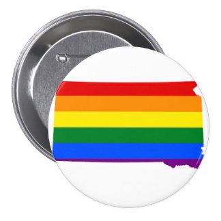 Botón del orgullo gay de Massachusetts