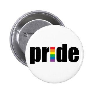 Botón del orgullo pin redondo de 2 pulgadas