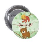 Botón del oso del arbolado pins