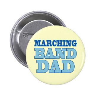 Botón del papá de la banda pin redondo de 2 pulgadas