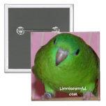 Botón del Parakeet de Linnie Pin