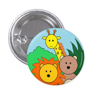 """Botón del """"parque zoológico"""" pin redondo de 1 pulgada"""