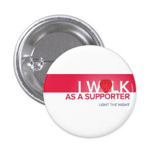 Botón del paseo del cáncer de sangre pin