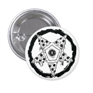 botón del Pentagram de la pizza del Pizza-gramo Pin