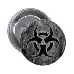 Botón del perno del Biohazard Pins