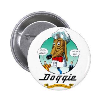 Botón del perrito pin