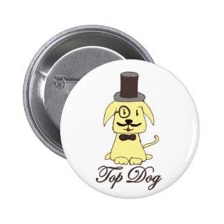 Botón del perro superior
