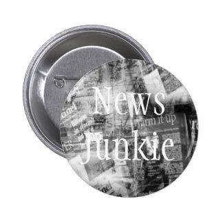 Botón del personalizable del drogadicto de la info pin redondo de 2 pulgadas