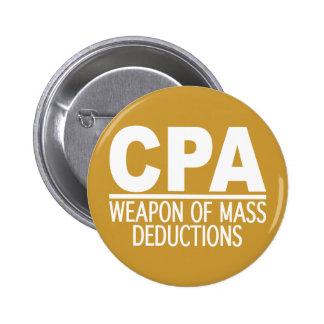 Botón del personalizado de CPA Pin Redondo De 2 Pulgadas