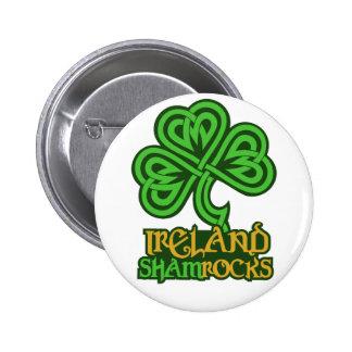 Botón del personalizado de Irlanda Pin