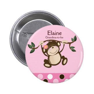 Botón del personalizado de la ETIQUETA del NOMBRE Pin Redondo De 2 Pulgadas