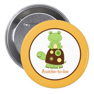 Botón del personalizado de la ETIQUETA del NOMBRE  Pin Redondo De 3 Pulgadas