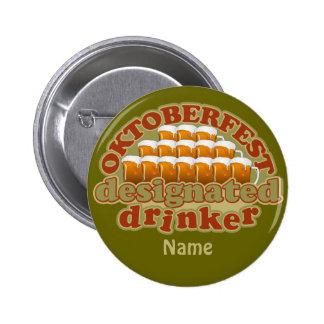 Botón del personalizado de OKTOBERFEST Pin Redondo De 2 Pulgadas