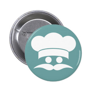 Botón del personalizado del COCINERO Pin Redondo De 2 Pulgadas