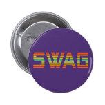 Botón del personalizado del SWAG Pin