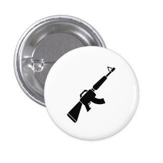 Botón del pictograma de AK-47 Pin Redondo De 1 Pulgada